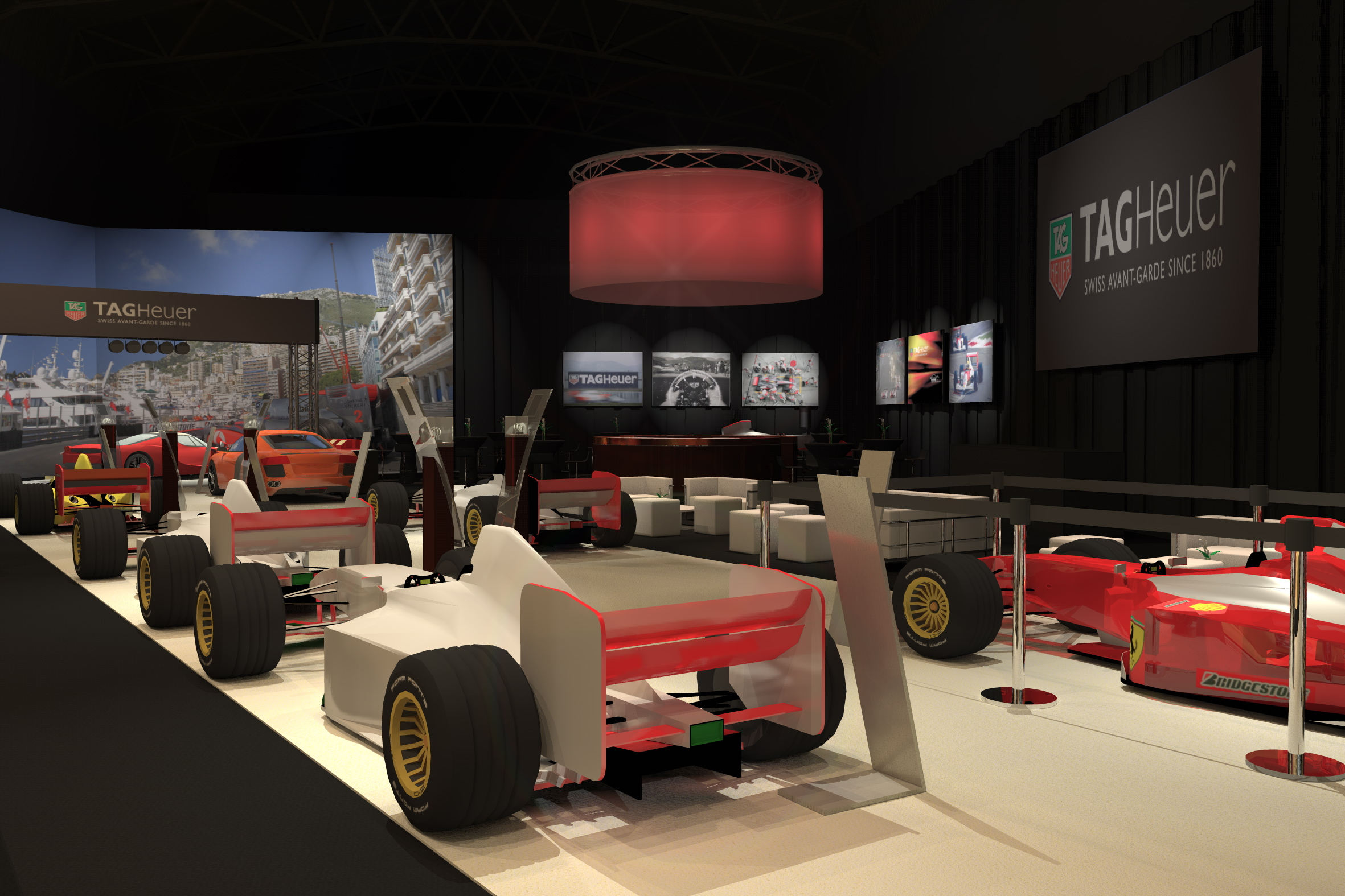 Event Concepts - F1 Tag Heuer 2