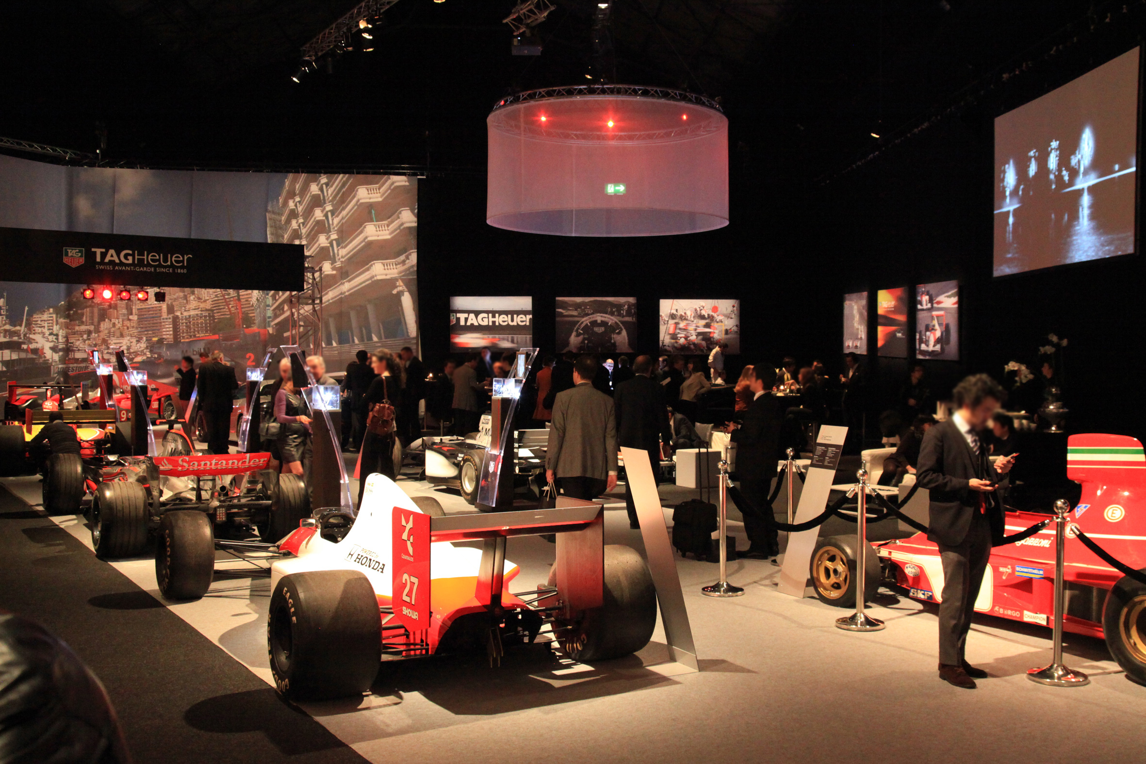 Event Concepts - F1 Tag Heuer